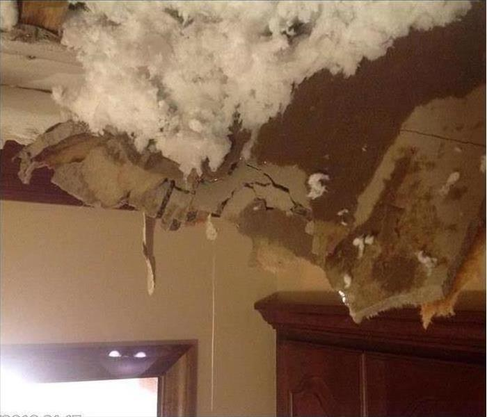 Water Damage Gloucester Home  Before